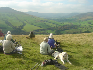 Vale of Edale from Win Hill