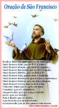 <b><center>Oração de São Francisco</b></center>