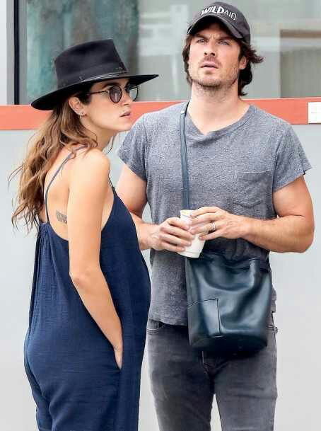 Vampire Diaries Star Ian Somerhalder And Nikki Reed Welcome First Child