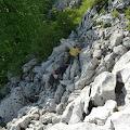 uspon na vrh Kolovratskih stijena