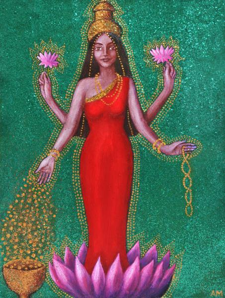 Alice Goddess Lakshmi, Goddesses