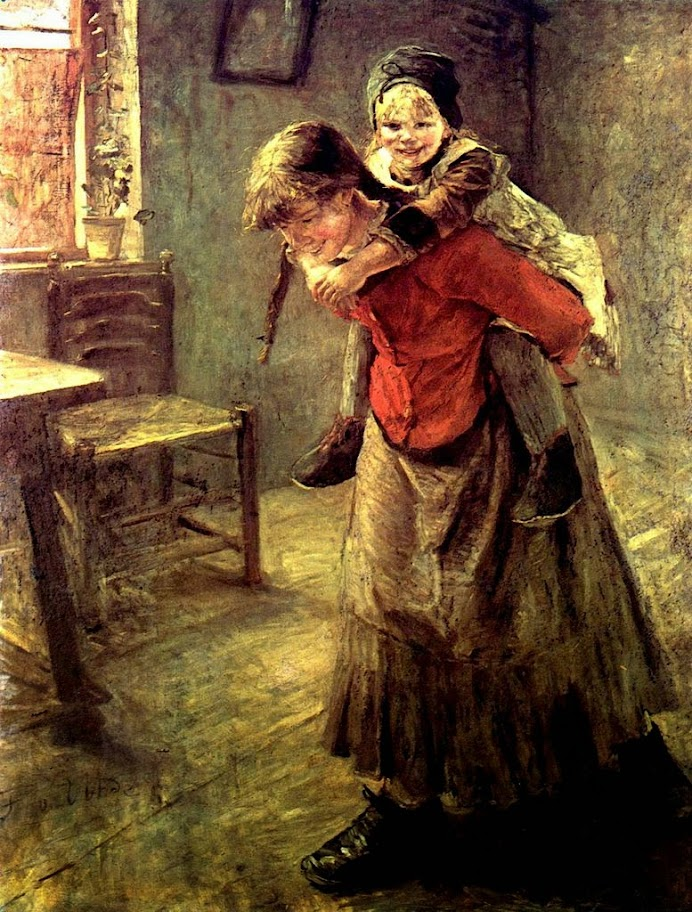 Fritz von Uhde - The Elder Sister