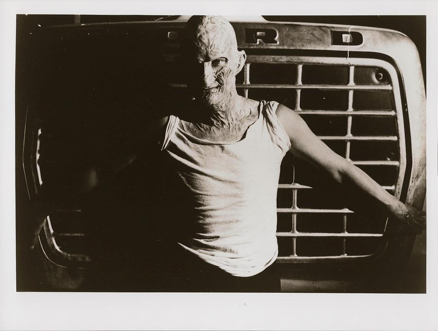 Artist/photographer Christopher Buchinsky shot this photo of me on the backlot.