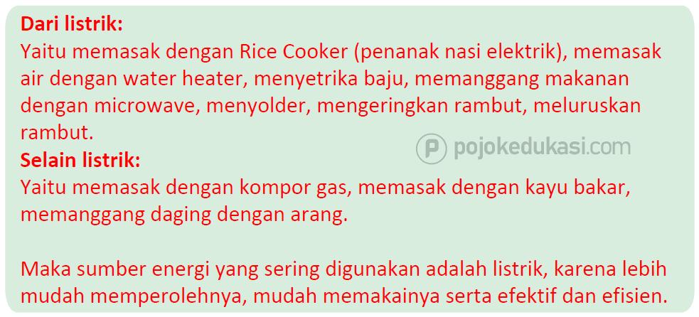 Kunci Jawaban Halaman 3, 4, 6, 7, 8, 9 Tema 6 Kelas 5