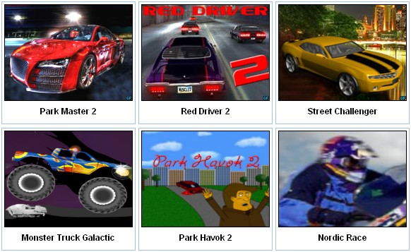 Online car games