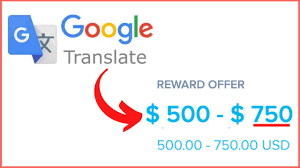 How to earn money from Google Translate