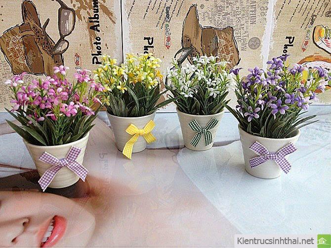 Hoa vải trang trí