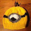 """Despicable Me"" Minion Hat - Knitting Pattern"