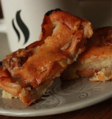 Far fruité SANS OEUF, à la banane et aux abricots secs - recette indexée dans les Desserts