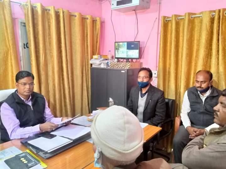 सहरसा:जिला पदाधिकारी कौशल कुमार ने पंचायत चुनाव 2021 हेतु मतदाता सूची के संदर्भ में निर्देश देते हुए