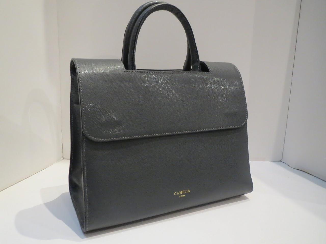 5818fe87fb019 Camelia Roma Grey Shoulder Bag