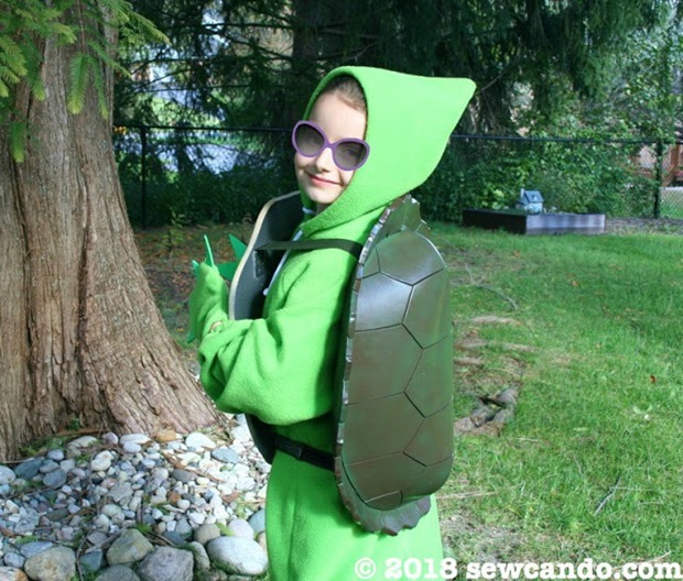 Sew Can Do Turtle Costume Smile Sunglasses