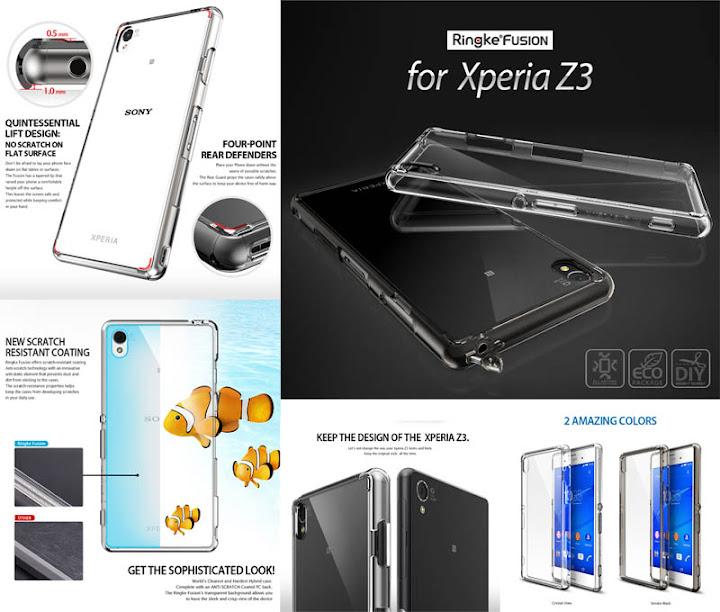 Ringke Fusion Case Sony Xperia Z3 - Dual