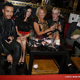 WWW.ENTSIMAGES.COM -   Danni Res, Dani Thompson, Aisleyne Horgan-Wallace , Lewis duncan Weedon and Fossy Meadesat     Celebrity loved fashion label; Lasula Boutique at The Rose Club, London October 17th 2013                                                   Photo Mobis Photos/OIC 0203 174 1069