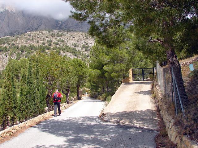 Senderismo Puig Campana PR-CV 289