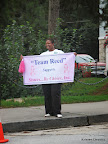 Team Reed supports Sisters... By Choice, Inc!
