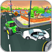 Lol Kart City Tow Tractor: Vehicles Simulator 2018