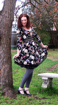 A Decade of Style Challenge - 2010 Vintage Fashion   Lavender & Twill