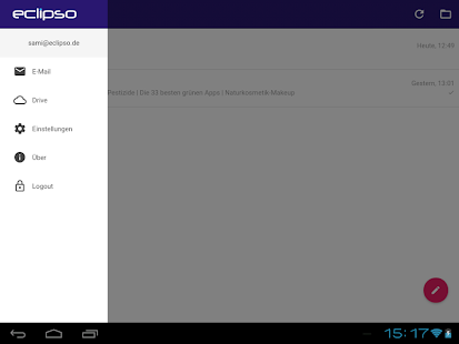 eclipso Mail & Cloud App- screenshot thumbnail