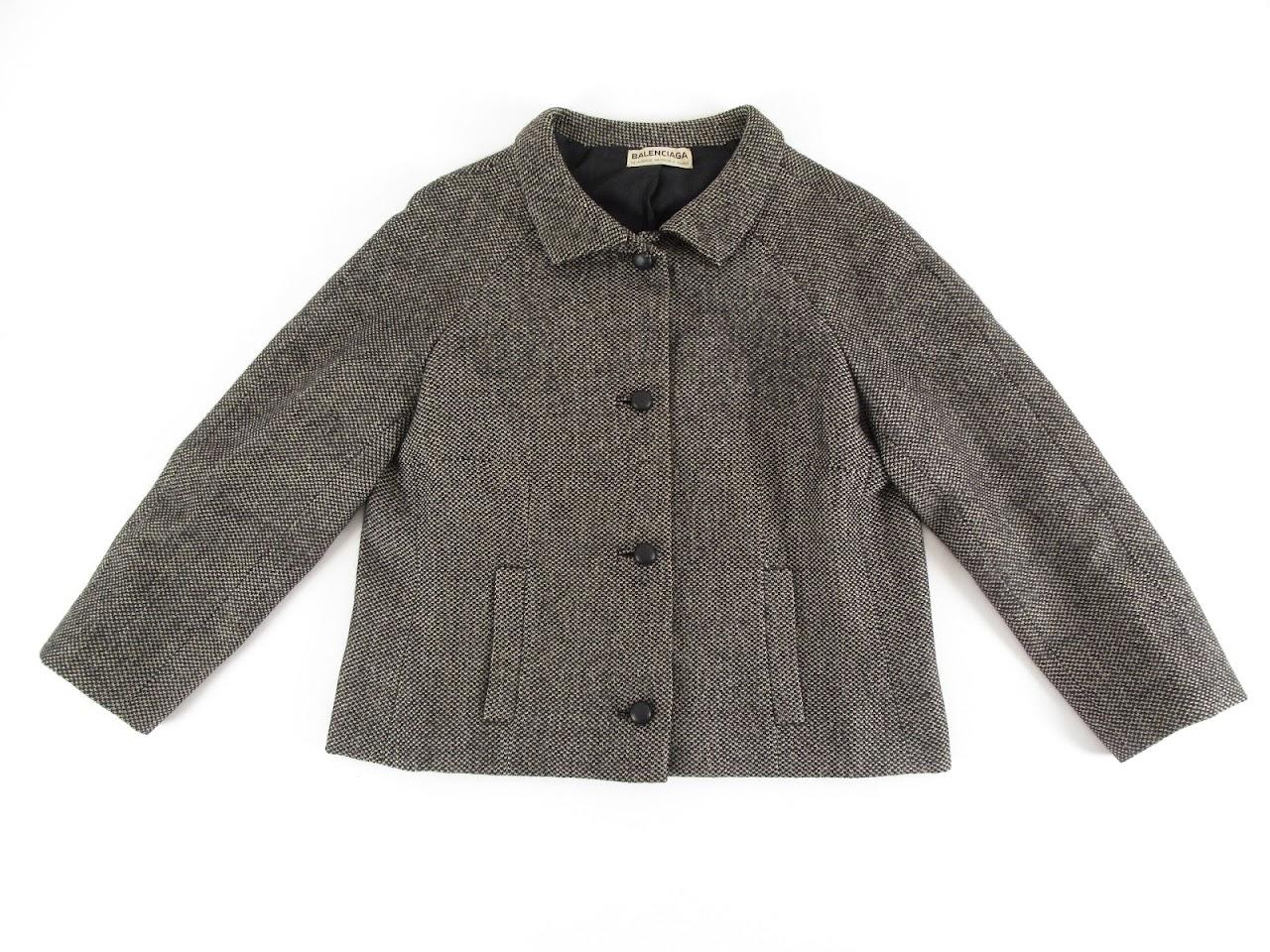 Balenciaga Tweed Blazer