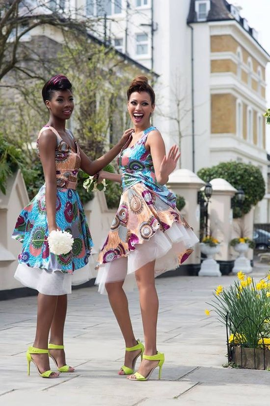 Beautiful South African Traditional Wedding Attire Real Hair Cut Shweshwe Dresses With Ndebele