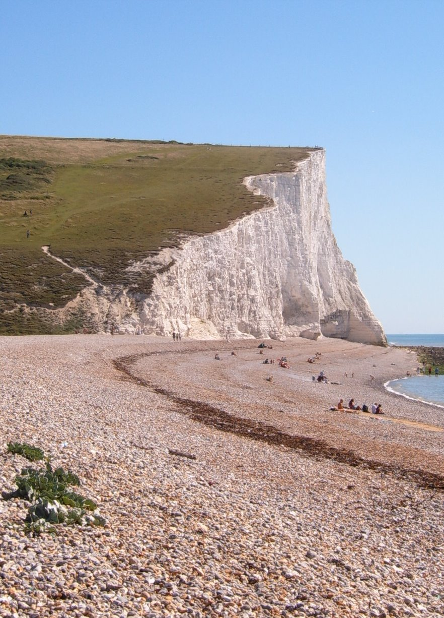 Beach at Cuckmere Haven