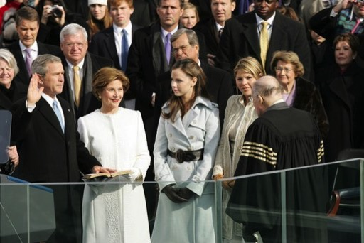 2005  George W Bush second inauguration