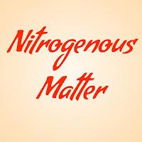 Nitrogenous matters