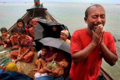 """Begitu Sabarnya Umat Islam Indonesia, Andai Ahok """"Muslim"""" Minoritas Myanmar Yang dibakar Hidup-hidup"""