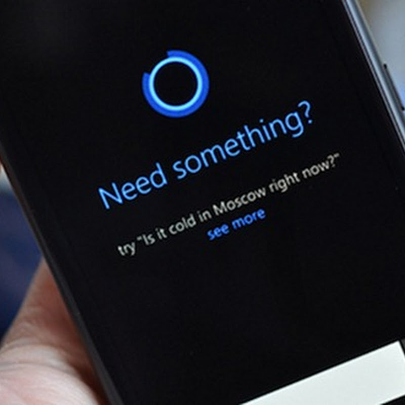 Cortana, l'assistente vocale di Windows 10 parla italiano.