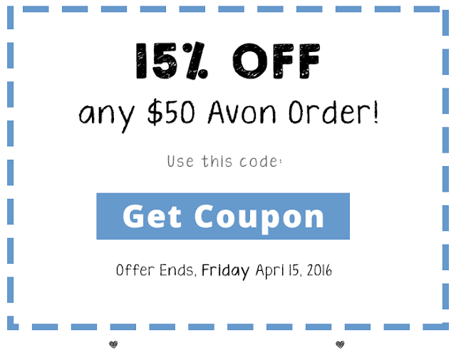 15% Off Any Avon Orders