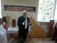 56 A kultúrházban megnyílt Kiss Mátyás népi iparművész, fafaragó kiállítása is.jpg