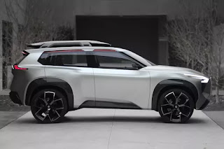 The futuristic Nissan Xmotion SUV concept