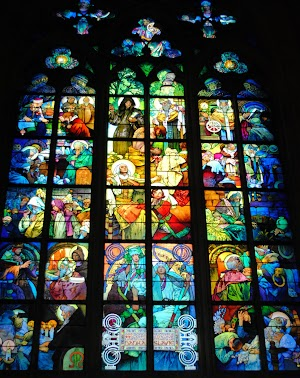Stained Glass Windows of St. Vitus Cathedral