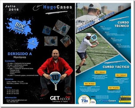 Formación para monitores y jugadores a cargo de Hugo Cases, Madrid, julio 2016.