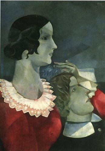 Marc Chagall, Amanti grigi