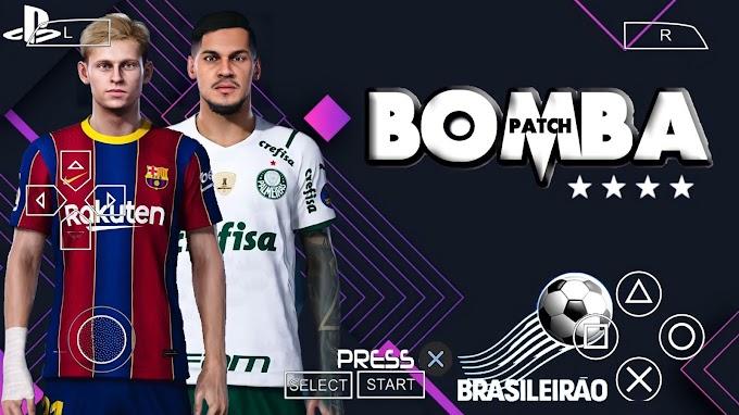 PES 2021 PPSSPP ANDROID BRASILEIRÃO A. B NOVAS TRANSFERÊNCIAS EQUIPES SUL AMERICANO ATUALIZADO