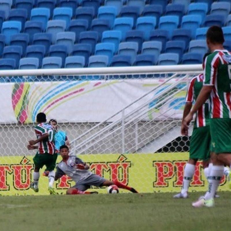 Acompanhe lance a lance de Santa Cruz de Natal 0 x 2  Baraúnas na Arena das Dunas