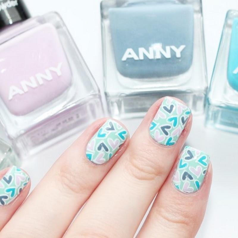 [Nail Art] Herzchen mit Anny
