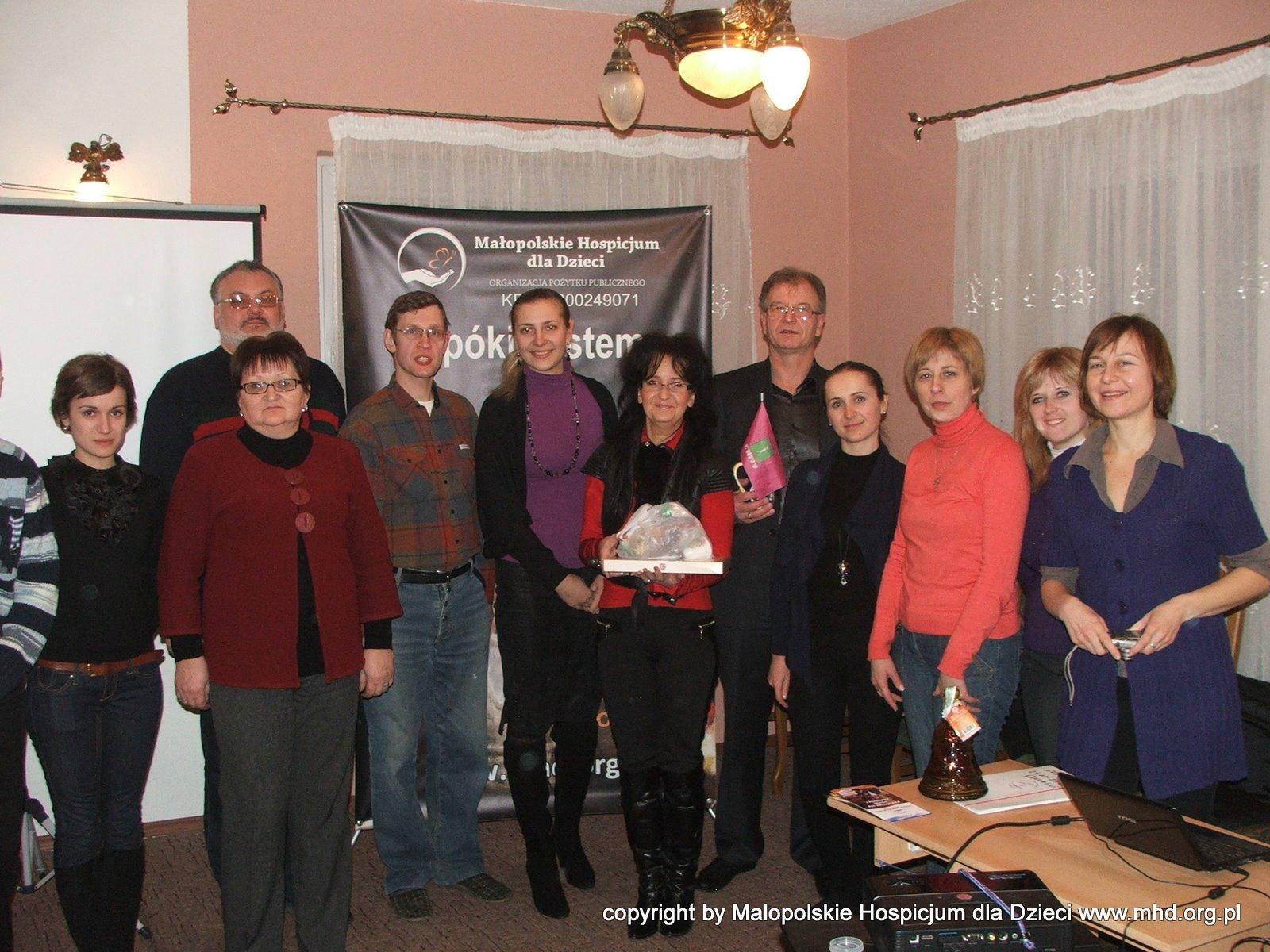 III robocza wizyta przyjaciół z Ukrainy w ramach Polsko-Ukraińskiego Forum Opieki Paliatywnej nad Dziećmi w Krakowie.