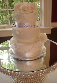 3 Tier Wedding Cakes 19 Lovely Three tier custom unique
