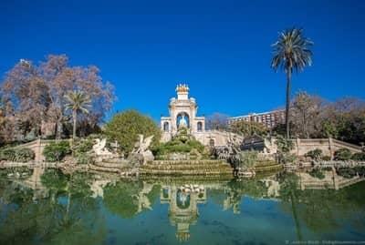 Parc de la Ciutdella Barcelona