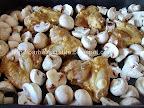 Aripioare de pui marinate la cuptor cu ghimbir si ciuperci preparare