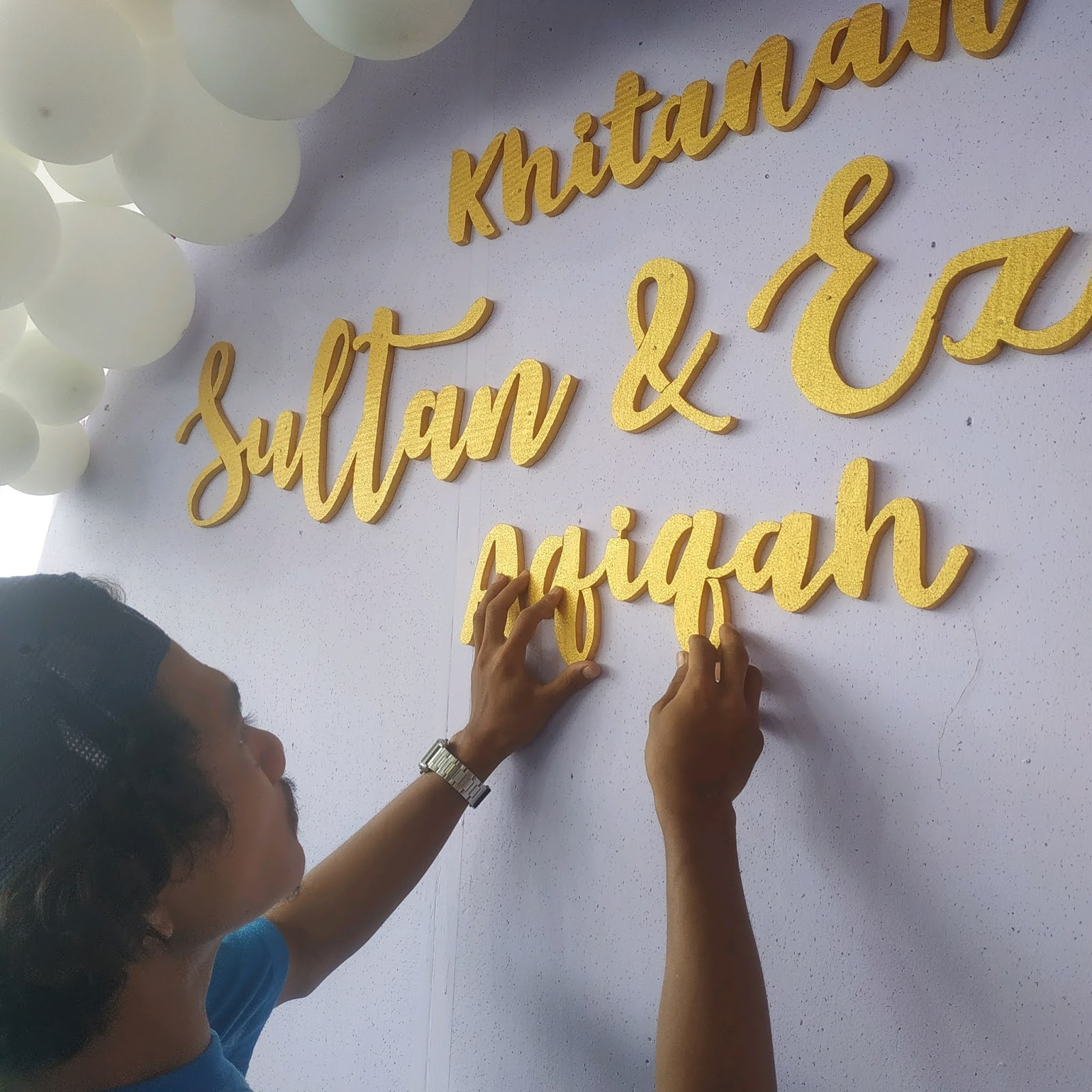 rounf backdrop decoration