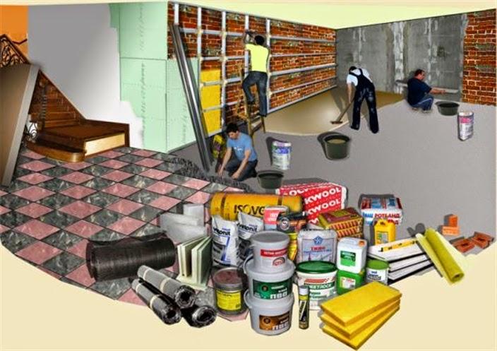Вредные материалы для ремонта