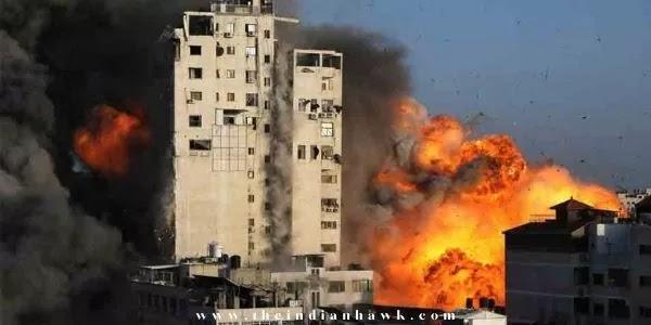 Israel-Palestine Conflict: Hamas Says 130 Rockets Fired at Israel, Raid Sirens in Tel Aviv