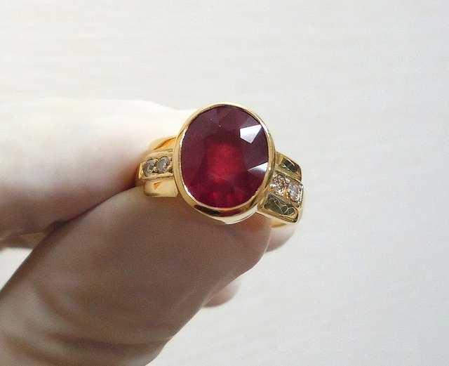 Buying Ruby Rings for Men