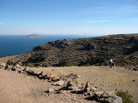 Isla Amantani on Lake Titicaca