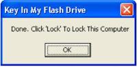 Trik Mengunci Komputer Dengan USB Flash Disk