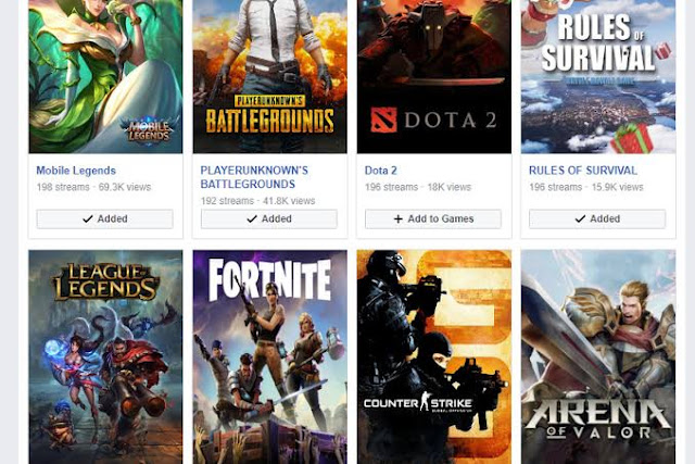 Facebook Gaming Beta Sürecine Girdi